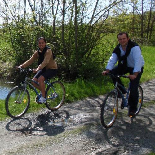 Balade à vélo dans le marais Poitevin