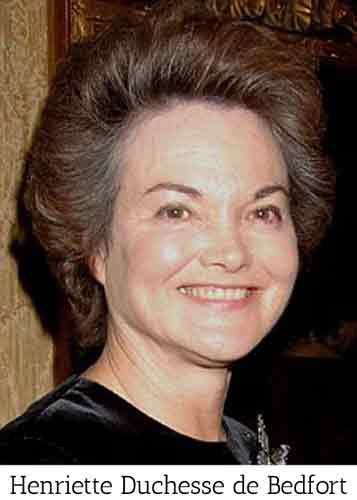 Henriette duchesse de bedfort